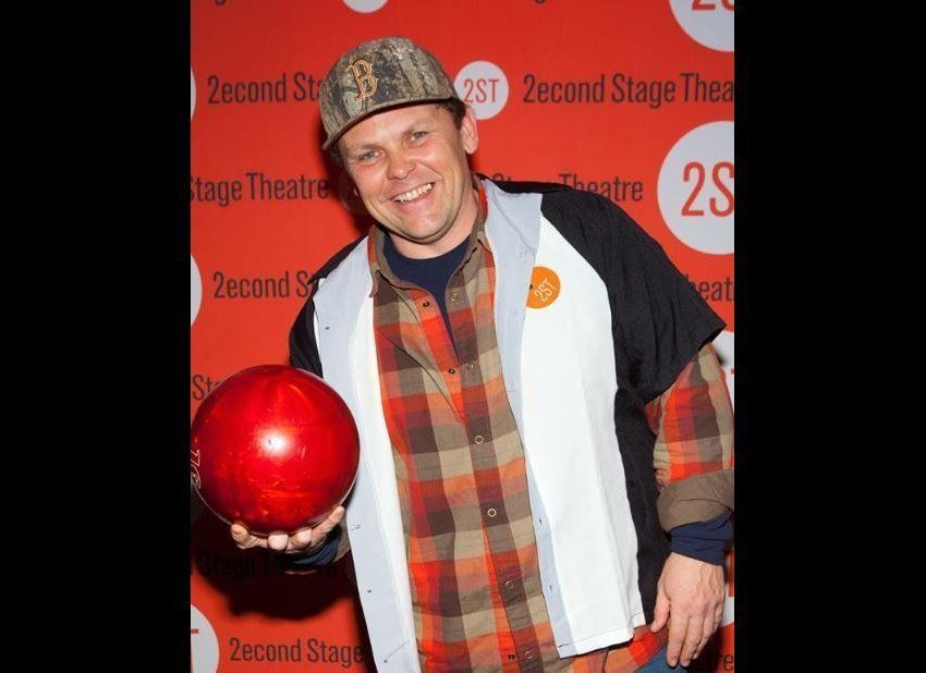 Kevin Chapman attends 2014 Second Stage Theatre's All-Star Bowling Classic fundraiser at Lucky Strike Lanes & Lounge in New Y