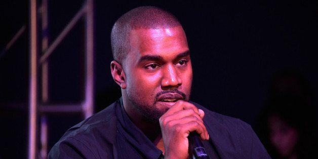 MIAMI, FL - DECEMBER 05:  Kanye West speaks at Surface Magazine's DesignDialogues No. 6 With Hans Ulrich Obrist, Kanye West A