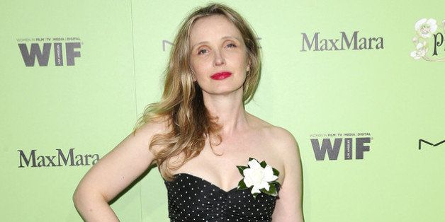 WEST HOLLYWOOD, CA - FEBRUARY 28:  Actress Julie Delpy attends the Women in Film Pre-Oscar Cocktail Party Presented by Perrie