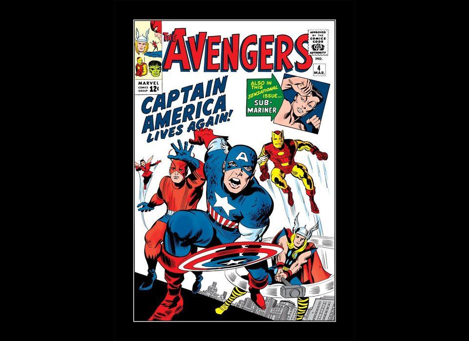 Captain America joins the Avengers.<br><br><em>All Photos Courtesy of Marvel</em>