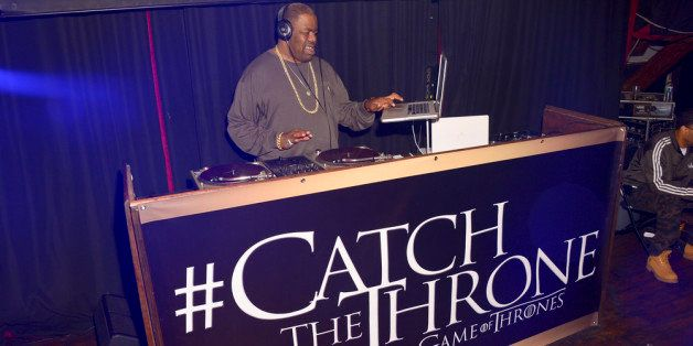 NEW ORLEANS, LA - FEBRUARY 16: Rapper Biz Markie DJ's at the HBO Game of Thrones Catch the Throne NBA All-Star Event at Repub