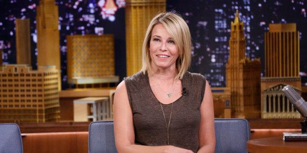THE TONIGHT SHOW STARRING JIMMY FALLON -- Episode 0012 -- Pictured: Chelsea Handler on March 4, 2014 -- (Photo by: Lloyd Bish