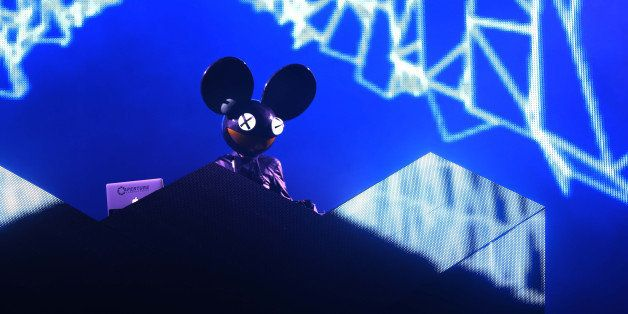 MIAMI, FL - MARCH 16:  Deadmau5 performs at  Ultra Music Festival - Weekend 1 at Bayfront Park Amphitheater on March 16, 2013