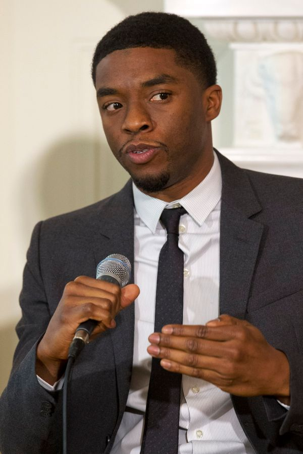 "Chadwick Boseman, who played Jackie Robinson in ""42,"" stars as James Brown in Tate Taylor's (""The Help"") new film."