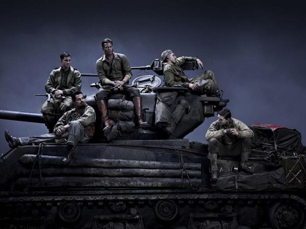 "Formerly titled ""Fury,"" this film stars Brad Pitt, Shia LaBeouf, Logan Lerman, Jon Bernthal, Michael Pena and a tank."