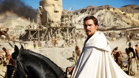 "Not to be outdone by Darren Aronfosky's ""Noah,"" here's Ridley Scott's ""Exodus,"" with Christian Bale as Moses."