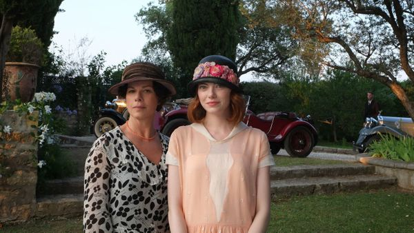 Woody Allen's annual film stars Colin Firth, Emma Stone and Emma Stone's cute hat.