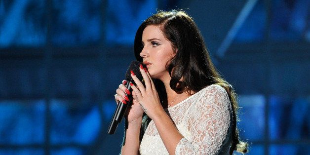 MOUNTAIN VIEW, CA - DECEMBER 12: Lana Del Rey performs at the 2014 Breakthrough Prizes Awarded in Fundamental Physics and Lif