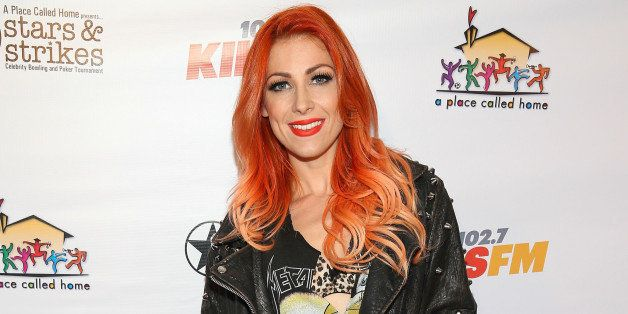 STUDIO CITY, CA - MARCH 19:  Singer Bonnie McKee attends the 8th Annual Stars & Strikes Celebrity Bowling & Poker Tournament