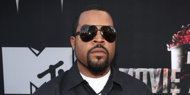 LOS ANGELES, CA - APRIL 13:  Actor/rapper Ice Cube attends the 2014 MTV Movie Awards at Nokia Theatre L.A. Live on April 13,