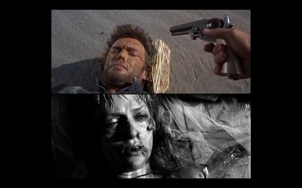 "The scene in which Bill shoots The Bride references <a href=""http://www.imdb.com/title/tt0378194/movieconnections"" target=""_b"