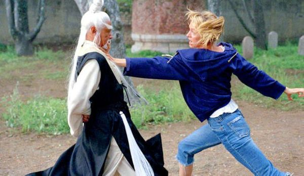 "When The Bride is training with Pai Mei, there's a reference made  to <a href=""http://www.imdb.com/title/tt0378194/movieconne"