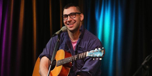 BALA-CYNWYD, PA - MARCH 25:  Jack Antonoff of Bleachers performs at Radio 104.5 Performance Theater March 25, 2014 in Bala Cy