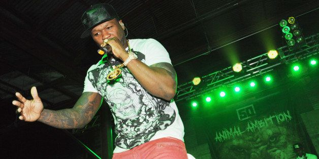 AUSTIN, TX - MARCH 11:  Recording artist 50 Cent performs onstage during the 2014 SXSW Music, Film + Interactive Festivalon M