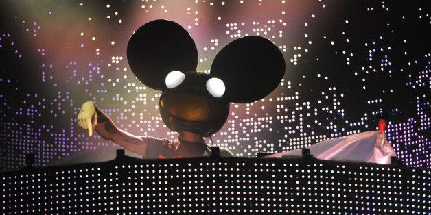 TORONTO, ON - AUGUST 04:  Deadmau5 performs on day 1 the 2012 Veld Music Festival on August 4, 2012 in Toronto, Canada.  (Pho