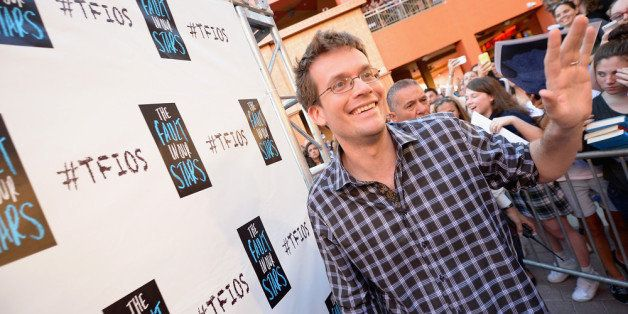 MIAMI, FL - MAY 06: John Green attends the The Fault In Our Stars Miami Fan Event at Dolphin Mall on May 6, 2014 in Miami, Florida. (Photo by Gustavo Caballero/Getty Images for Allied-THA)