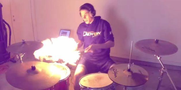 5 Insane Drum Covers That Are Deliciously Over The Top Huffpost