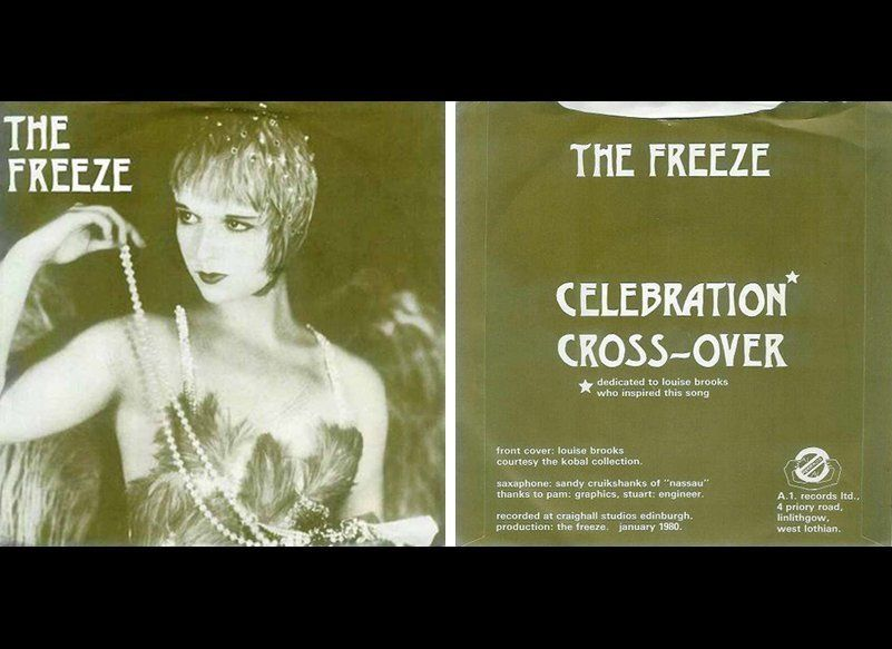 "The first rock music nod to Louise Brooks may be from The Freeze, a Scottish punk band formed in 1976. They released a 7"" EP"