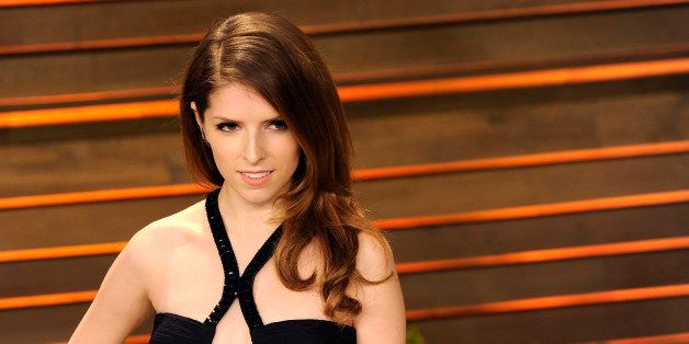 WEST HOLLYWOOD, CA - MARCH 02:  Actress Anna Kendrick arrives at the 2014 Vanity Fair Oscar Party Hosted By Graydon Carter on