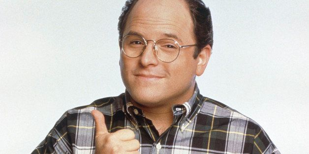 SEINFELD -- Pictured: Jason Alexander as George Costanza  (Photo by Andrew Eccles/NBC/NBCU Photo Bank via Getty Images)