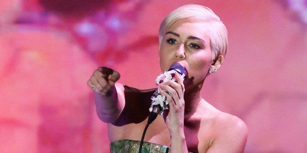 MONTE-CARLO, MONACO - MAY 27:  Miley Cyrus performs during the World Music Awards at Sporting Monte-Carlo on May 27, 2014 in