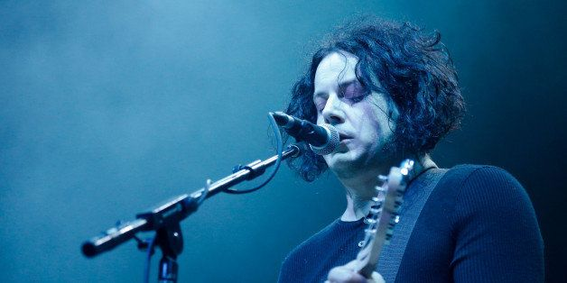 UNIVERSAL CITY, CA - DECEMBER 09:  Musician Jack White performs onstage at the 23rd Annual KROQ Almost Acoustic Christmas at