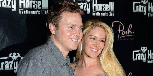 LAS VEGAS, NV - AUGUST 31:  Television personalities Spencer Pratt (L) and Heidi Montag arrive at the Crazy Horse III Gentlem