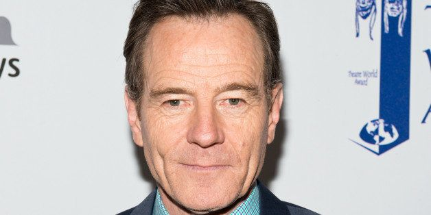NEW YORK, NY - JUNE 02:  Actor Bryan Cranston attends the 2014 Theatre World Awards ceremony at Circle in the Square on June
