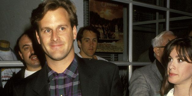 Dave Coulier and Alanis Morissette (Photo by Ron Galella/WireImage)