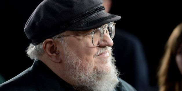 HOLLYWOOD, CA - MARCH 18:  Co-Executive Producer George R.R. Martin arrives at the premiere of HBO's 'Game Of Thrones' Season