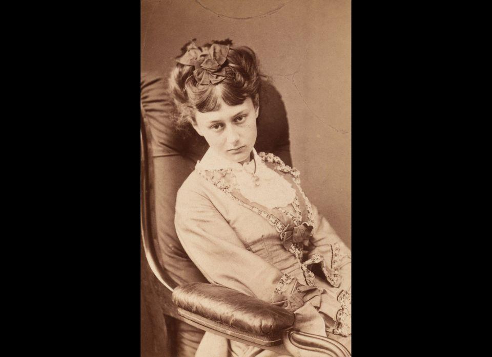 Alice Pleasance Liddell, 25 June 1870.