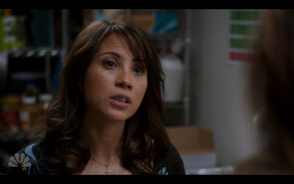 """Elizabeth Rodriguez plays Daya's mother, Aleida, on """"OITNB,"""" but she also made a guest appearance on """"SVU"""" Season 13 episode"""