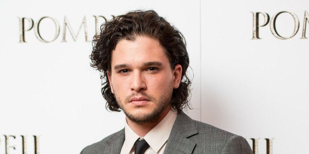 LONDON, ENGLAND - APRIL 28: Kit Harrington attends a VIP screening of 'Pompeii' at Vue West End on April 28, 2014 in London,