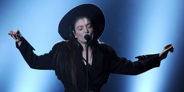 Lorde performs on stage at the Billboard Music Awards at the MGM Grand Garden Arena on Sunday, May 18, 2014, in Las Vegas. (P