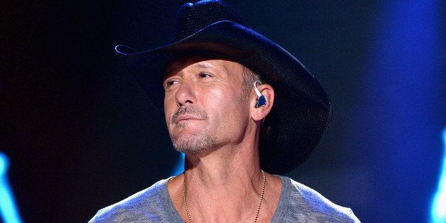 NASHVILLE, TN - JUNE 05: Tim McGraw performs onstage at the 2014 CMA Festival on June 5, 2014 in Nashville, Tennessee. (Photo by Larry Busacca/Getty Images)
