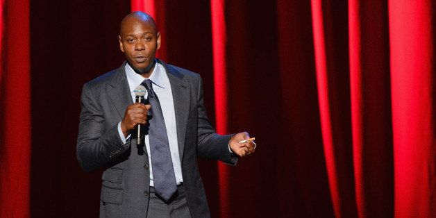 NEW YORK, NY - JUNE 19:  Comedian/actor Dave Chappelle performs at Radio City Music Hall on June 19, 2014 in New York City.