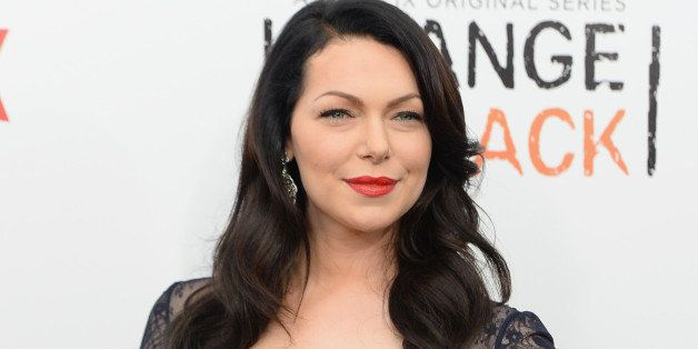 NEW YORK, NY - MAY 15:  Actress Laura Prepon attends the 'Orange Is The New Black' season two premiere at Ziegfeld Theater on