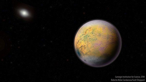 Newly discovered far-flung object supports Planet X existence