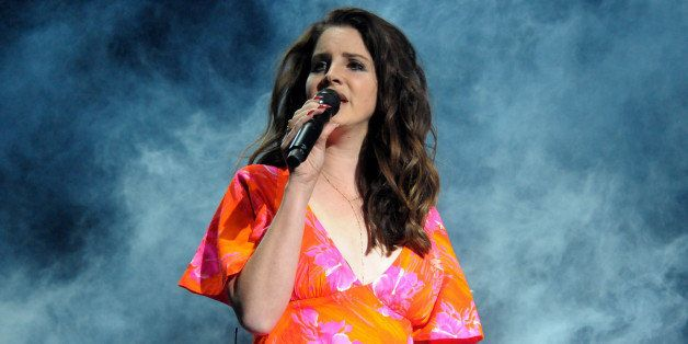 INDIO, CA - APRIL 13:  Singer Lana Del Rey performs onstage during day 3 of the 2014 Coachella Valley Music & Arts Festival a