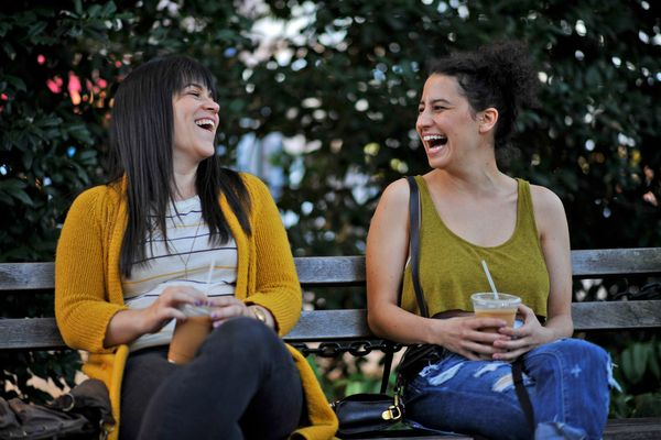 "No pun intended when we call this stoner-friendly comedy one of 2014's highest ""highs."" Ilana Glazer and Abbi Jacobson develo"