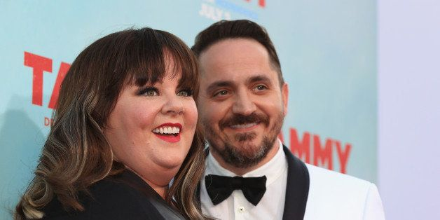 HOLLYWOOD, CA - JUNE 30:  Filmmakers Melissa McCarthy and Ben Falcone attend the 'Tammy' Los Angeles premiere at TCL Chinese