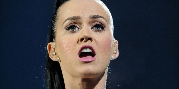 GLASGOW, SCOTLAND - MAY 25:  Katy Perry performs live at Radio 1's Big Weekend  at Glasgow Green on May 25, 2014 in Glasgow,