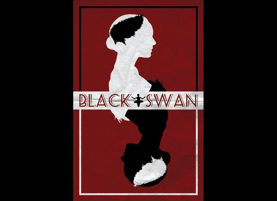 """<a href=""""http://www.etsy.com/listing/89666570/black-swan-film-poster-v1"""" target=""""_hplink"""">""""Black Swan"""", $15</a>"""