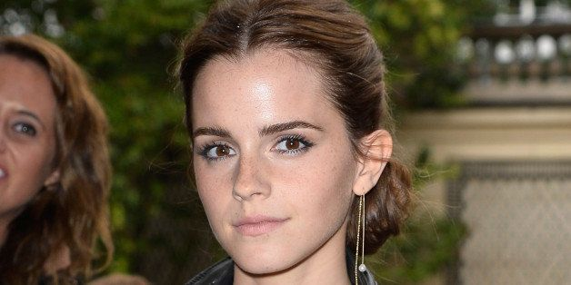 PARIS, FRANCE - JULY 09:  Emma Watson attends the Valentino show as part of Paris Fashion Week - Haute Couture Fall/Winter 20