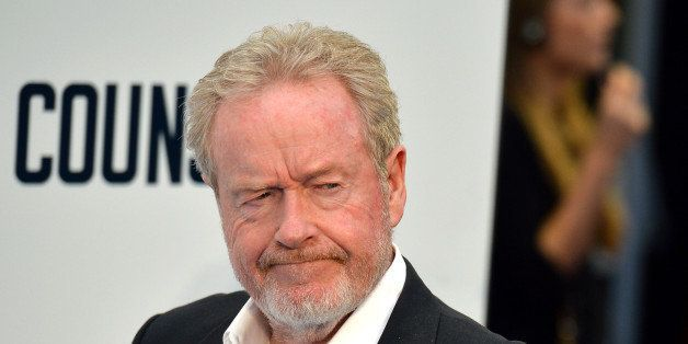 British director Ridley Scott arrives for the premier of his latest film 'The Counsilor' in London on October 3, 2013. AFP PH