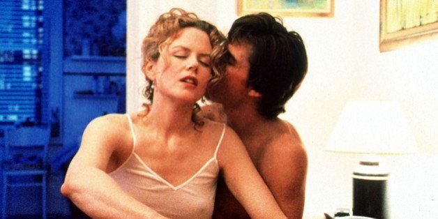 Dr. William Harford (Tom Cruise) and Alice Harford (Nicole Kidman) in Stanley Kubrick's 'Eyes Wide Shut.'...