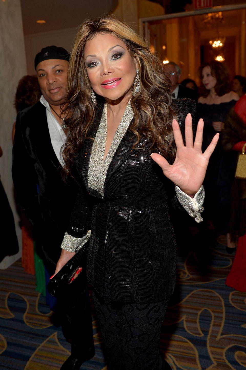 "BEVERLY HILLS, CA - JANUARY 14:  <a href=""http://www.oprah.com/app/life-with-latoya.html"" target=""_blank"">La Toya Jackson</a>"