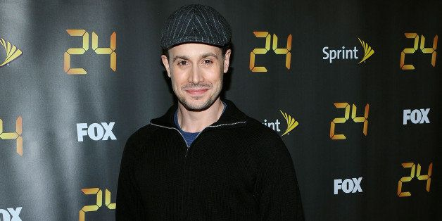 NEW YORK - JANUARY 14: Actor Freddie Prinze Jr. attends the season premiere for the eighth season of the television series '2