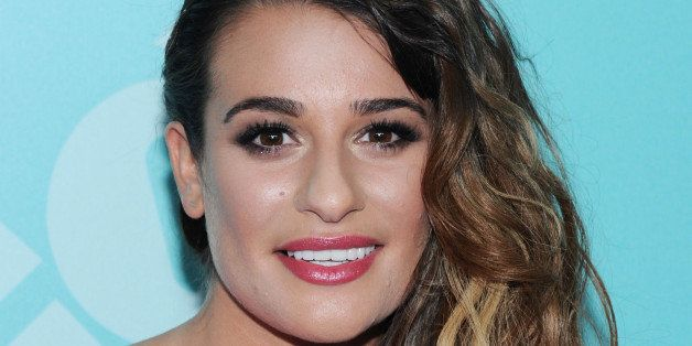 NEW YORK, NY - MAY 13:  Actress Lea Michele attends FOX 2103 Programming Presentation Post-Party at Wollman Rink - Central Pa