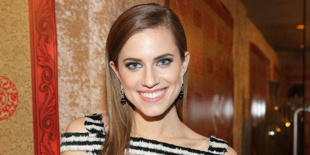 LOS ANGELES, CA - JANUARY 12:  Actress Allison Williams attends HBO's Post 2014 Golden Globe Awards Party held at Circa 55 Re